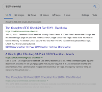 Higher product page ranks in organic search results